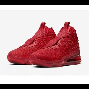 Nike Lebron 17 XVII Red Carpet Men's Size 9.5